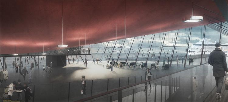 Primer Lugar. Image Cortesía de Organización del concurso