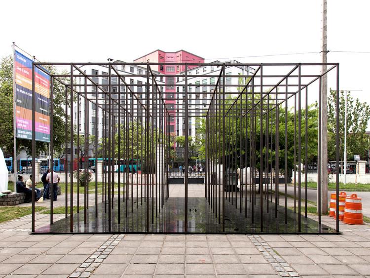 Habitar el vacío / Josep Ferrando y estudiantes de la UFT en Chile. Image © María José Canales
