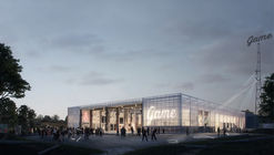 EFFEKT's Winning Proposal Converts Abandoned Warehouse Into Cultural Hub