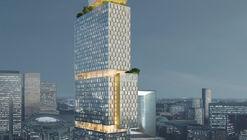 Ateliers 2/3/4/ presenta nuevo rascacielos ajardinado en París