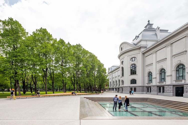 Latvian Museum of Art / Processoffice and Andrius Skiezgelas Architecture, © Norbert Tukaj