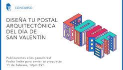 Diseña tu postal arquitectónica del día de San Valentín 2017