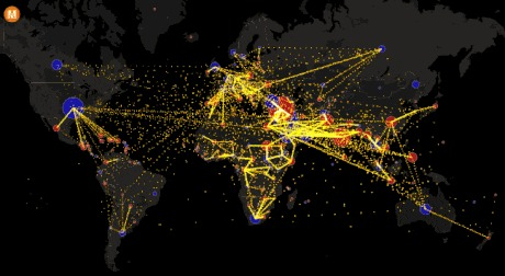 This Interactive Map Shows The World S Recent Migration