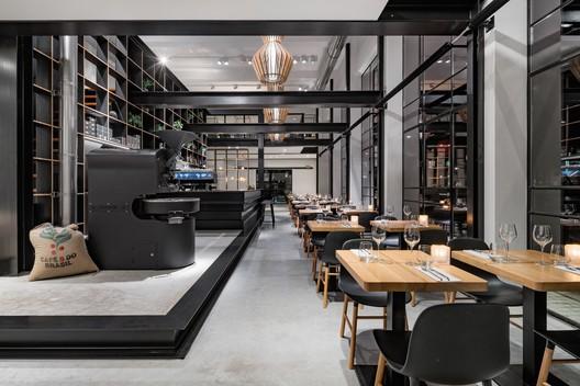 Capriole café bureau fraai architecture and design