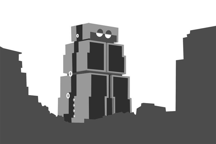 Robot Building. Image © José Tomás Franco