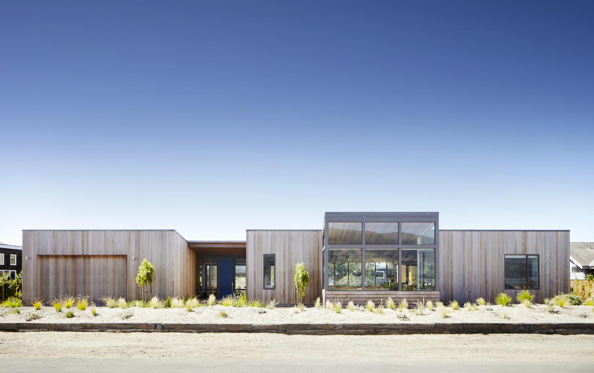 Blue apron niman ranch - Stinson Beach Lagoon Turnbull Griffin Haesloop Architects