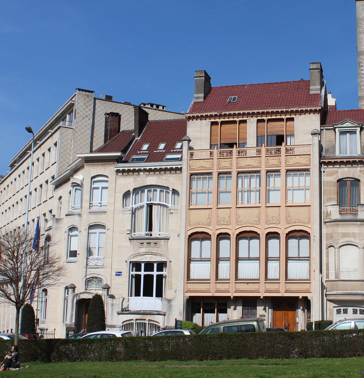 AD Classics: Hôtel van Eetvelde / Victor Horta, Courtesy of Wikimedia user Zinneke (licensed under CC BY-SA 3.0)