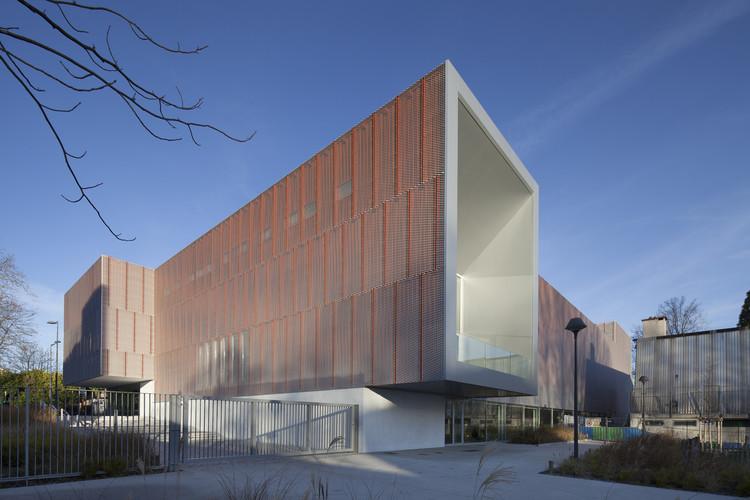 Gimnasio Jean Gachet  / LINK - Chazalon Glairoux Lafond - architectes associés, © Milène Servelle