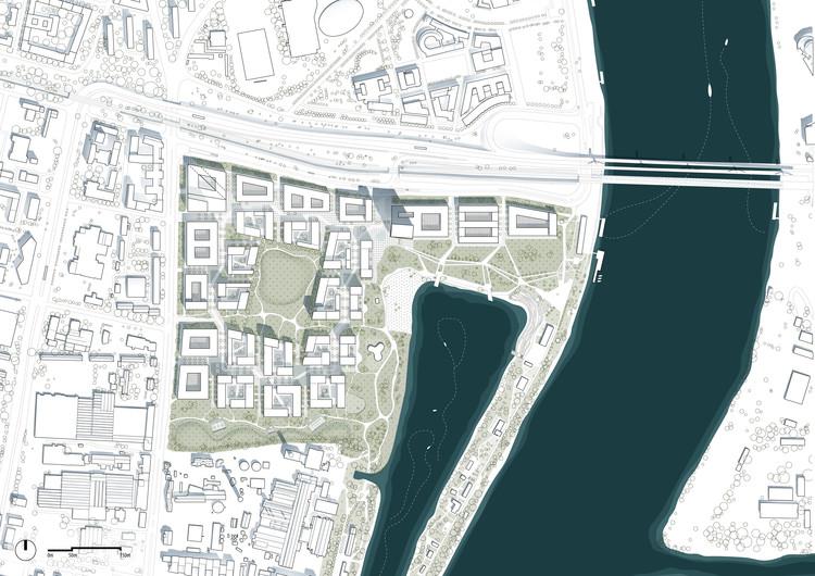 Masterplan. Image Courtesy of ADEPT Architects