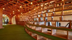 Parabolic Plywood Office  / RAW Architecture
