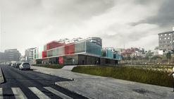 ABLM arquitectos, primer lugar en concurso para nueva sede de la Cruz Roja Española