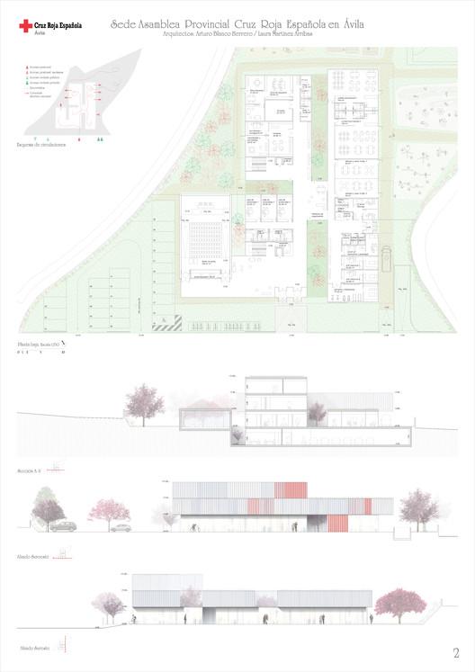 Lámina 02. Image Cortesía de ABLM Arquitectos