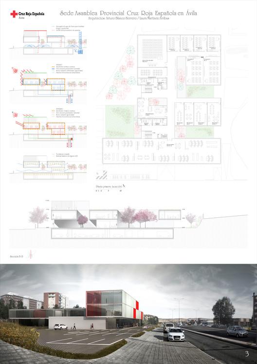 Lámina 03. Image Cortesía de ABLM Arquitectos