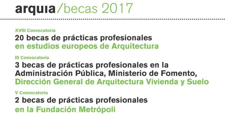 Arquia becas 2017 plataforma arquitectura for Practicas estudio arquitectura