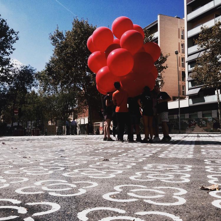 Trama de panots pintados. Image © cultura superilla [Instagram]