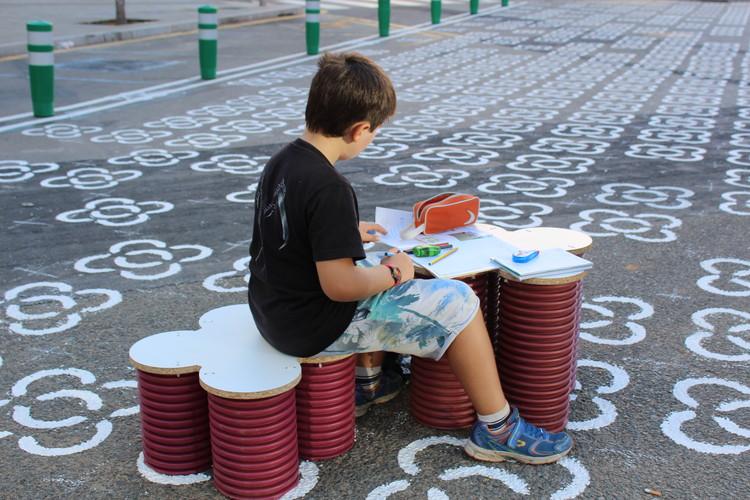 Mobiliario móvil. Image © Patrizia Di Monte