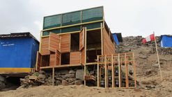 'Ciudad Dormitorio' en Lima: Módulo habitable productivo para asentamientos informales