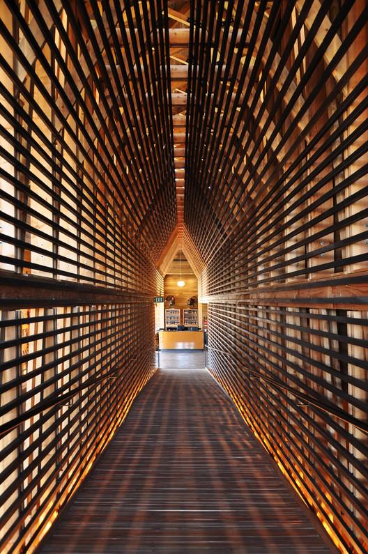 Wild Turkey Bourbon Visitor Center. Image Courtesy of Wood Design & Building Awards