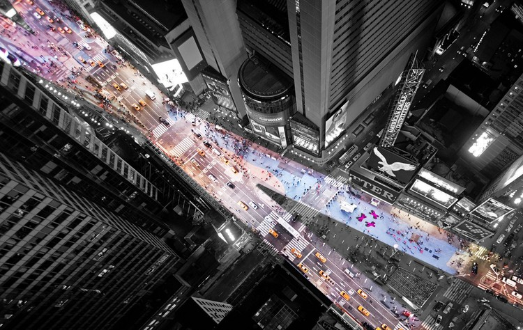 times square with love mayer architects bbeecee photo
