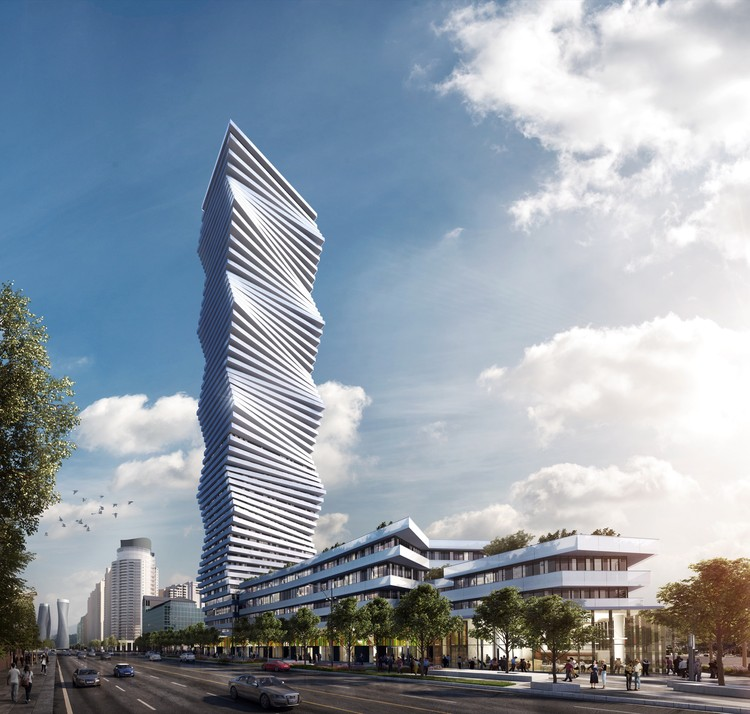 CORE's Undulating Tower Will Be Mississauga's Tallest Building, © Brick VIsual