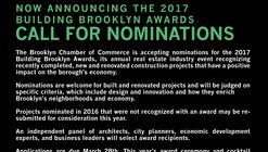 Call for Nominations: Building Brooklyn Awards