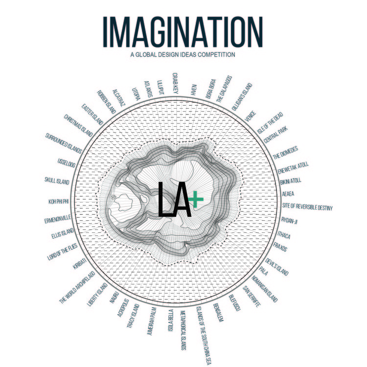 Open Call: LA+ IMAGINATION Design Ideas Competition, LA+ IMAGINATION (Design by A. Koll + P. Pottapu)