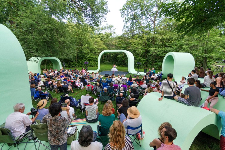 """Ragdale Ring Project: Contemporary Redesign of Historic Performance Space, Award-winning 2016 Ragdale Ring """"Rounds"""" by SPORTS"""