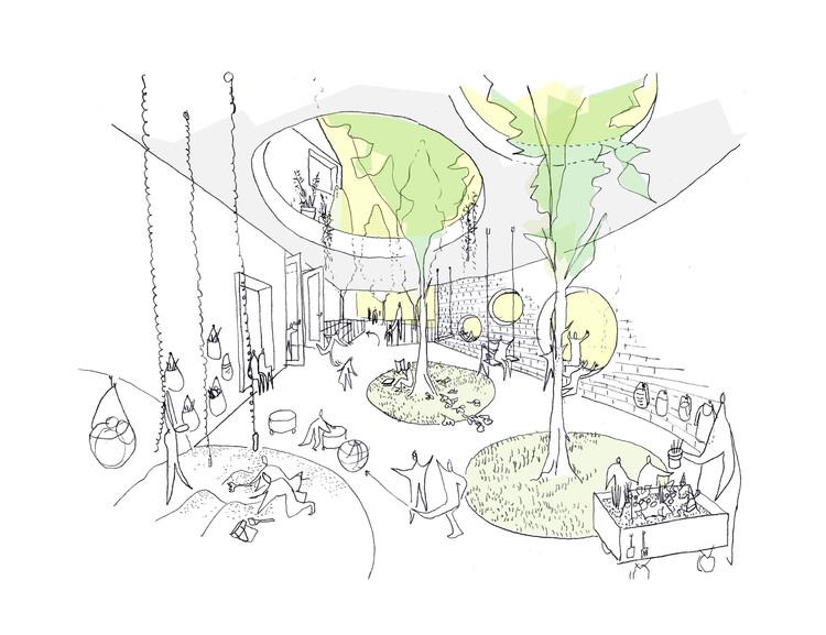 Daniel Valle Architects diseñará guardería y centro social en Seúl, Cortesía de Daniel Valle Architects