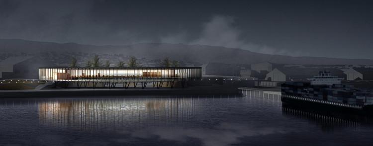 Beals Lyon Arquitectos, segundo lugar en concurso del Terminal Internacional de Pasajeros de Punta Arenas, Chile, Cortesía de Beals Lyon Arquitectos