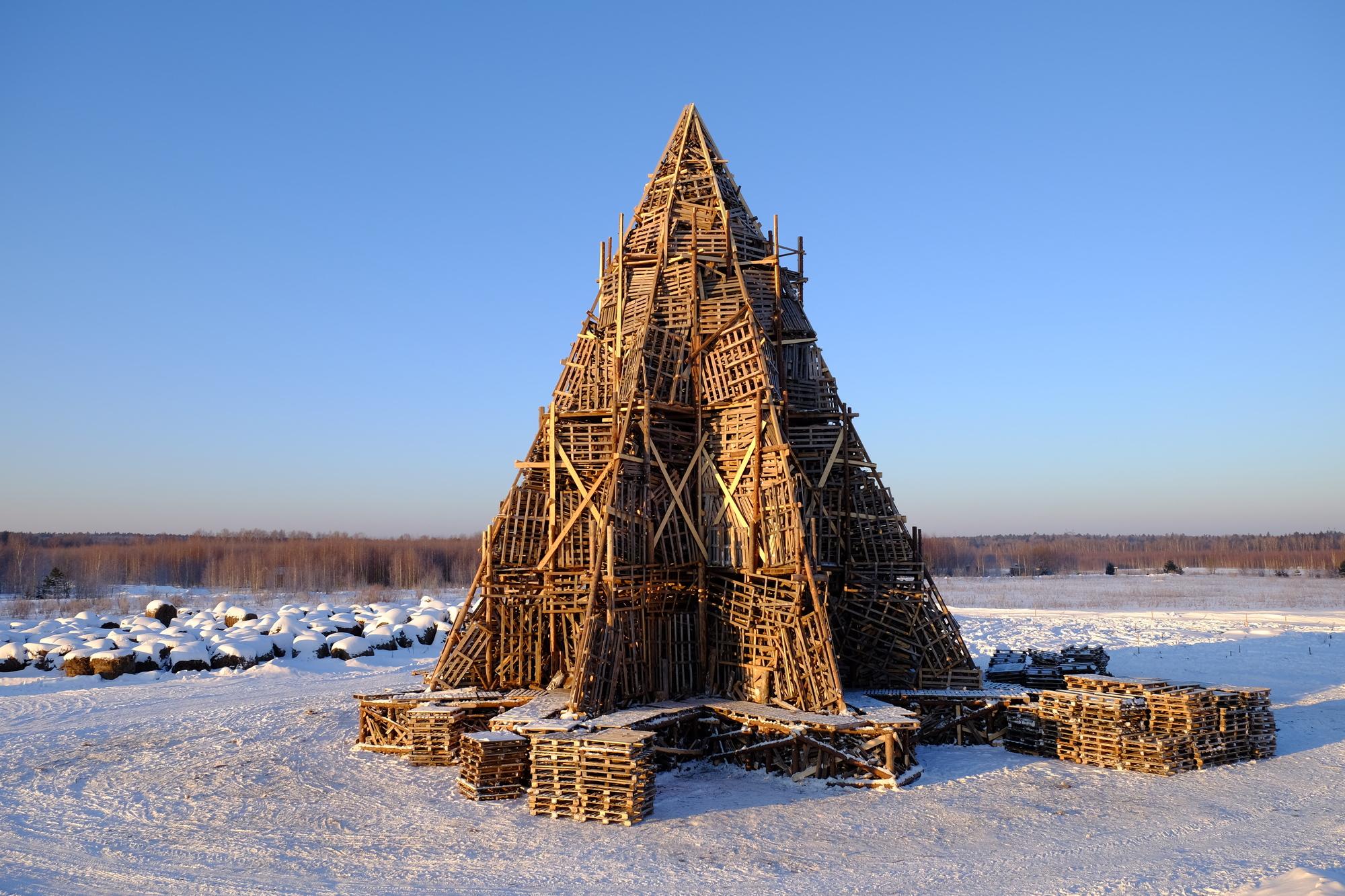 Nikolay polissky revela su ltima estructura artesanal de for Estructura arquitectura