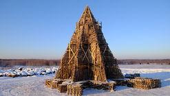 Nikolay Polissky revela su última estructura artesanal de madera