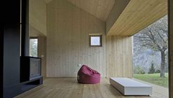 Residential Unit at the Paluzza Inner Service / Ceschia e Mentil Architetti Associati