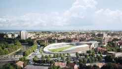 Competition Winning Stadium Design Promotes Inclusivity in Dunkirk, France