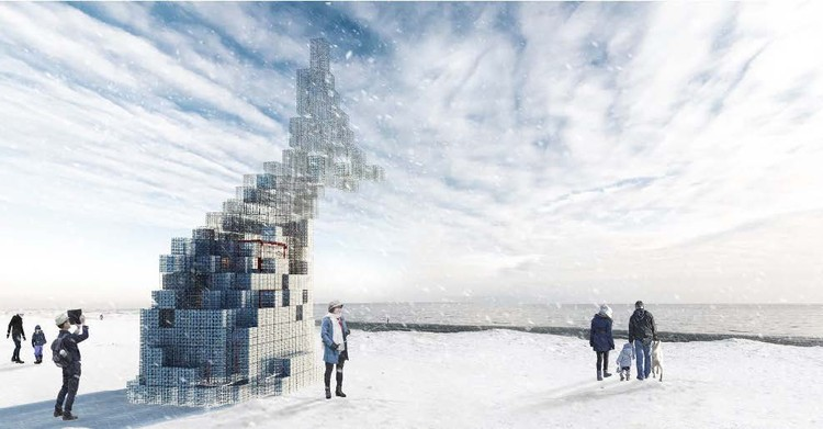 8 Projects Selected to Transform Toronto's Beachfront in the 2017 Winter Stations Design Competition, 8 installations will open up the Toronto waterfront landscape and reinvent the space for visitors