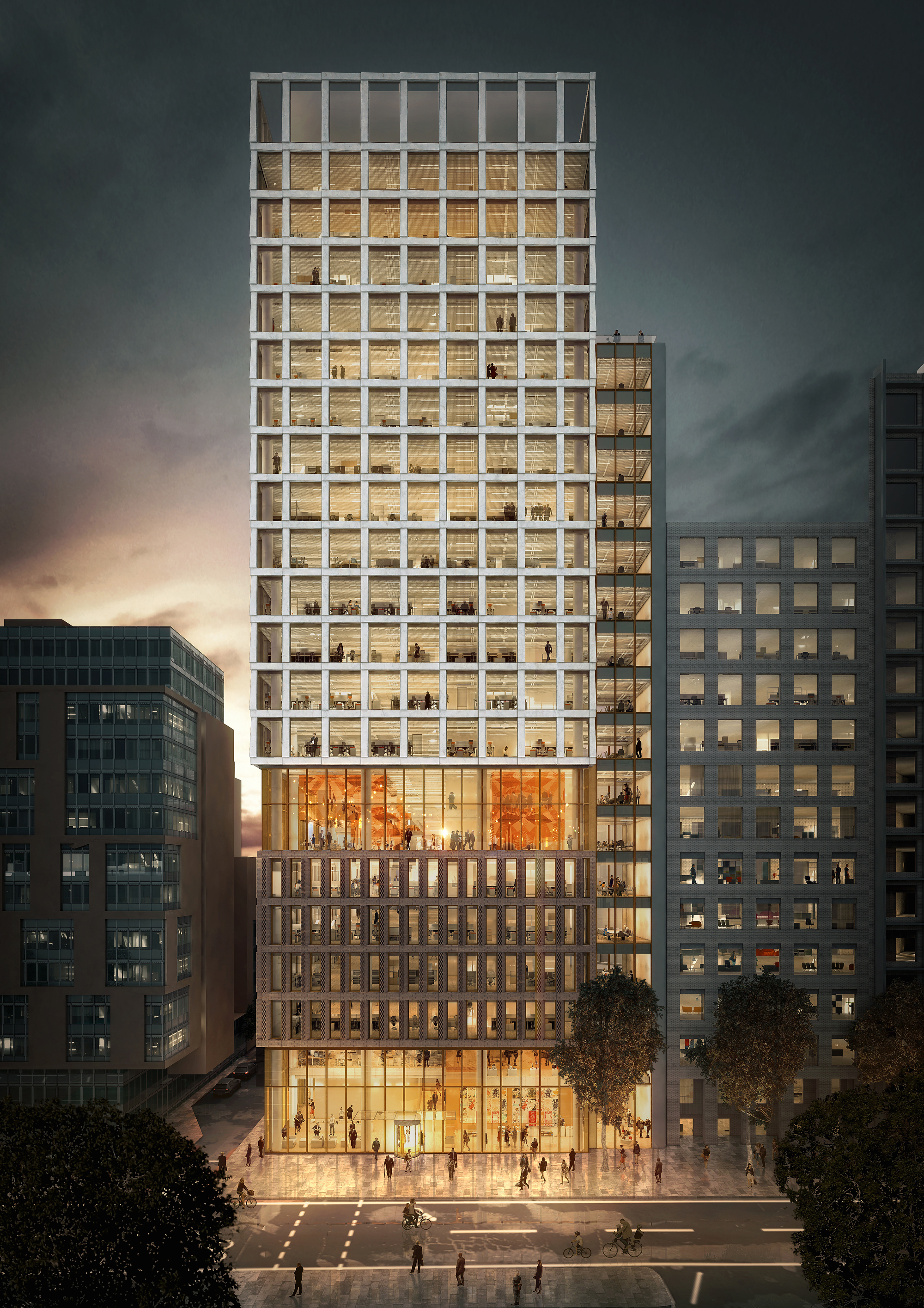 Gallery of plp architecture s proposed office building for Architecte tower bridge