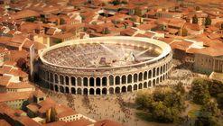 Arquitectos proponen nueva cubierta en concurso de anfiteatro romano en Verona
