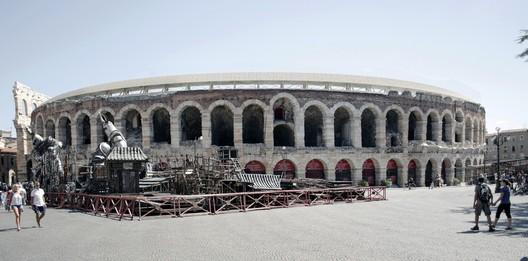 Segundo Lugar / Vincenzo Latina. Imagen cortesía de Alcaldía de Verona