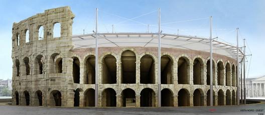 Tercer Lugar / Roberto Ventura. Imagen cortesía de Alcaldía de Verona