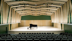 Sala de Conciertos William M. Lowman / Sander Architects