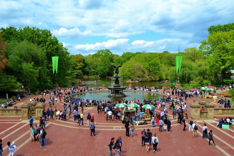 10 razões para desenhar cidades pensando nas comunidades, Central Park, Nova York. Imagem © Flickr usuário gigi_nyc Licença CC BY-NC-ND 2.0