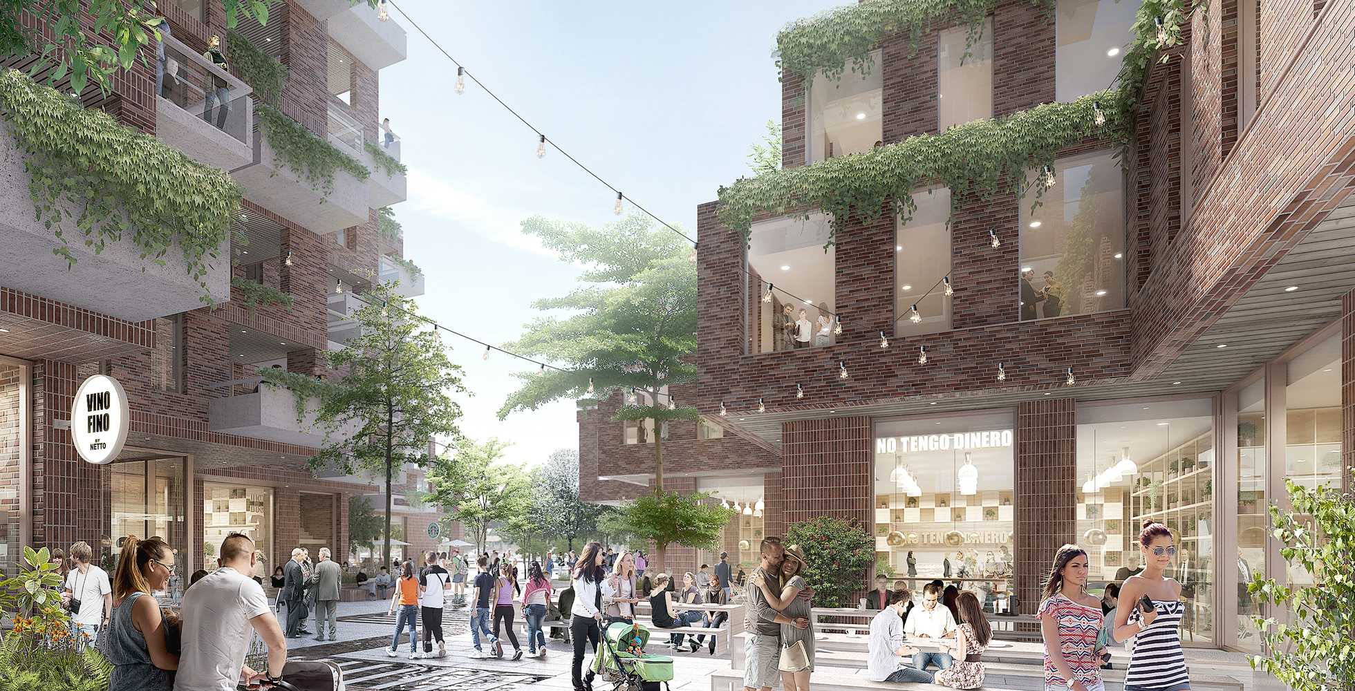 aart to revitalize aarhus port district with terraced mixed use complex