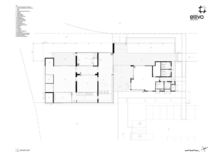 Open Floor Plans Vs Closed Floor Plans: Providence Neighbourhood Centre / Ellivo Architects