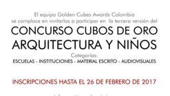 Colombia: III versión de los Premios UIA Architecture & Children Golden Cubes