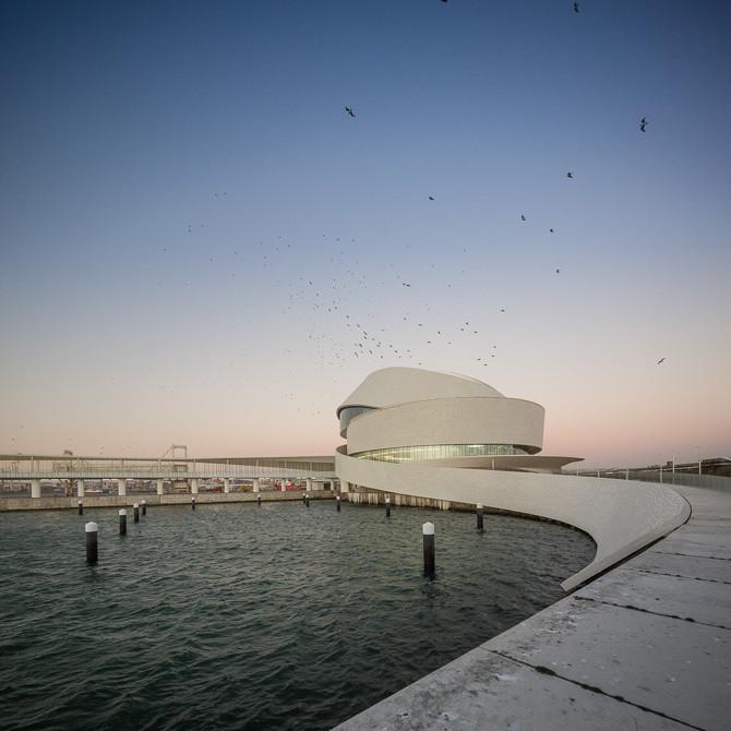 Winner in the Public Architecture Category. Leixões Cruise Terminal / Luís Pedro Silva Arquitecto. Image © Fernando Guerra | FG+SG
