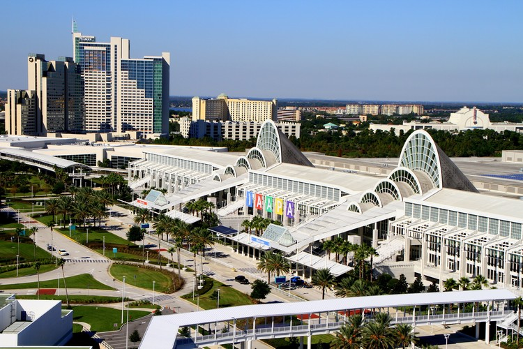 Architects Speak Out on Lack of Female Speakers at AIA National Convention, Orlando's Orange County Convention Center will play host to the 2017 AIA National Conference. Image © Flickr user billmorrow. Licensed under CC BY 2.0