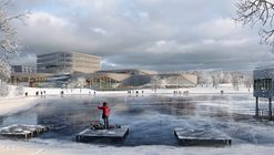 3XN Architects Wins Competition for New Aquatic Center in Sweden