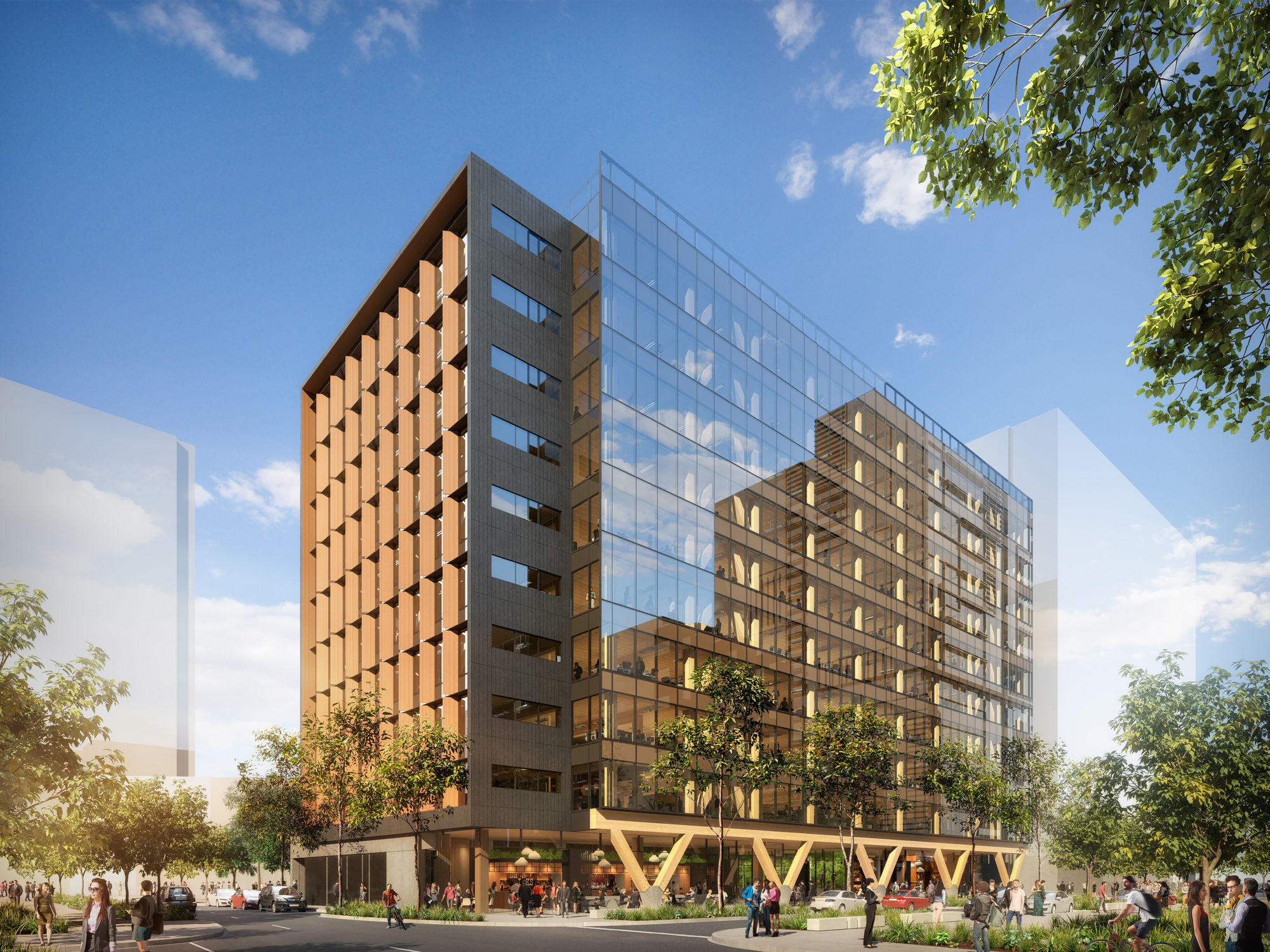 Gallery Of Bates Smart Unveils Plans For Tallest