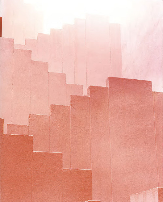 Red Staircase 2. Image © Ola Kolehmainen. Courtesy of the SENDA Gallery