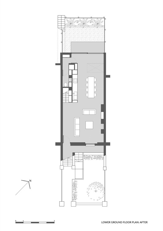 Lower Ground Floor Plan After