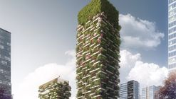 Stefano Boeri presenta diseño de su primer 'bosque vertical' en Asia